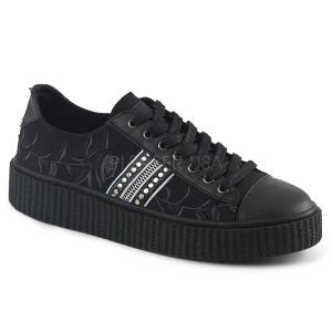 Canvas 4 cm SNEEKER-106 sneakers creepers sko til mænd