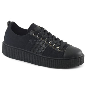 Canvas 4 cm SNEEKER-107 Mens sneakers creepers shoes