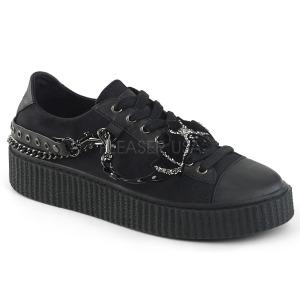 Canvas 4 cm SNEEKER-112 sneakers creepers sko til mænd