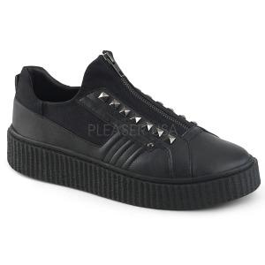 Canvas 4 cm SNEEKER-125 sneakers creepers sko til mænd