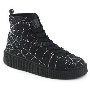 Canvas 4 cm SNEEKER-250 sneakers creepers sko til mænd