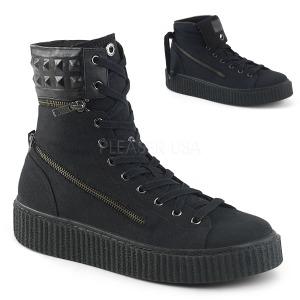 Canvas 4 cm SNEEKER-270 sneakers creepers sko til mænd