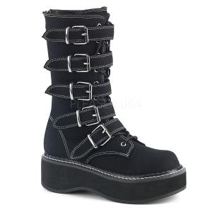Canvas 5 cm EMILY-341 demonia boots platform
