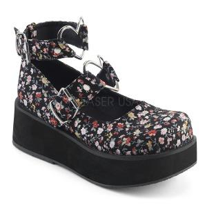 Canvas 6 cm SPRITE-02 lolita shoes gothic platform shoes