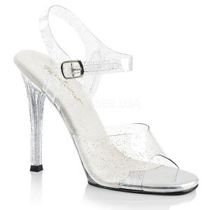 Glimmer 11,5 cm Fabulicious GALA-08MMG højhælede sandaler til kvinder