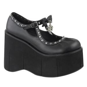 Leatherette 11,5 cm KERA-14 lolita shoes gothic platform shoes