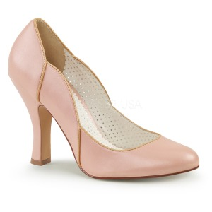 Rose 10 cm SMITTEN-04 Pinup Pumps Shoes with Low Heels