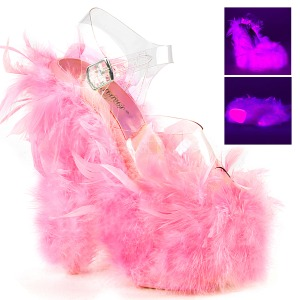 Rose Marabou Feathers 18 cm ADORE-708F Pole dancing high heels