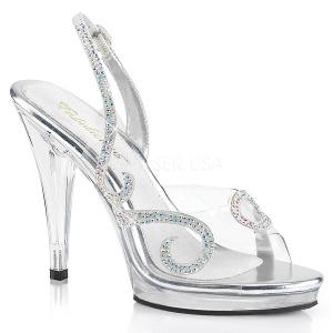 Strass sten 11,5 cm FLAIR-457 højhælede sandaler til kvinder