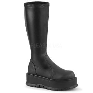 Vegan 5 cm SLACKER-200 platform demonia boots