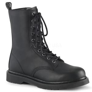 Vegan BOLT-200 demonia ankelstøvler - unisex militærstøvler