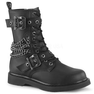 Vegan BOLT-250 demonia ankelstøvler - unisex militærstøvler