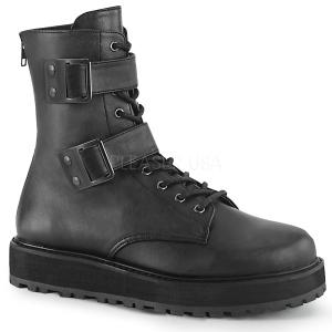 Vegan VALOR-250 demonia ankelstøvler - unisex militærstøvler