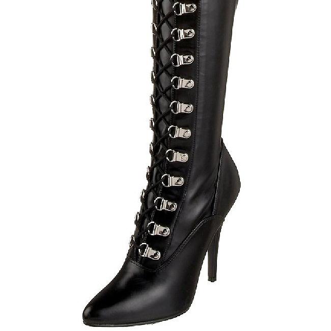 9273c0af6d72bf Black Matte 13 cm SEDUCE-3024 High Heeled Overknee Boots