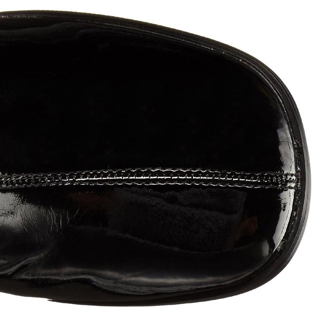 Boots Cm Gogo 3000 Black Womens Patent 8 Overknee 3R5j4AL