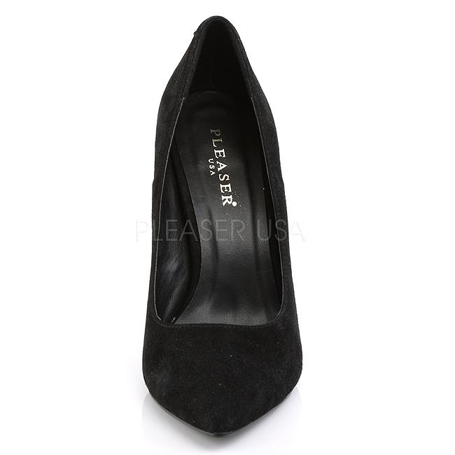 797d77cce86d97 Black Suede AMU20 BSUE PLEASER big size High Heels Pumps for Men ...