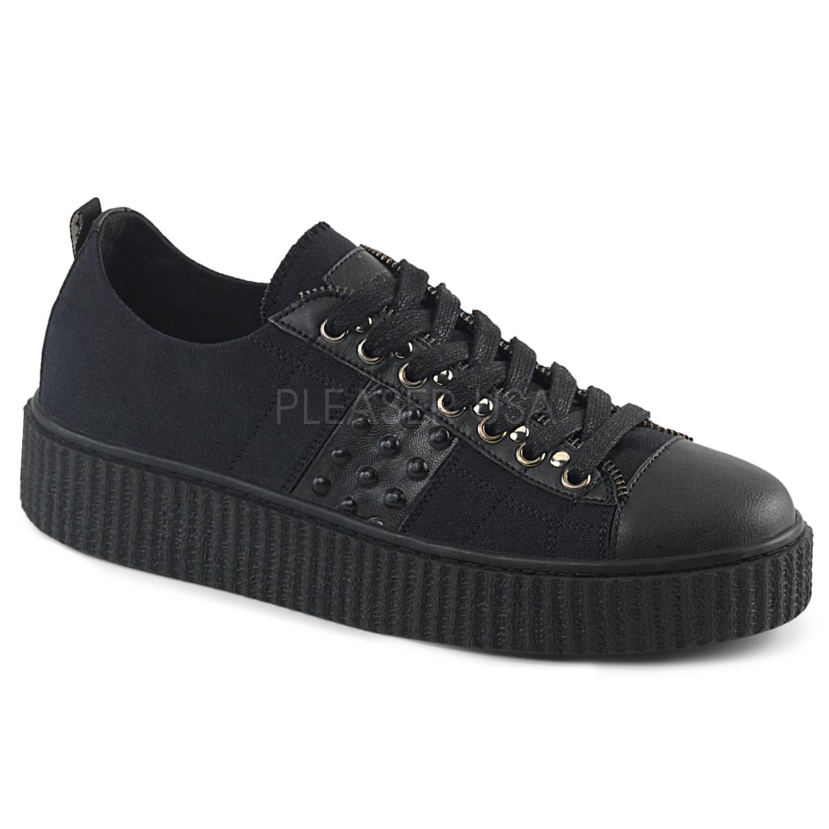 08b69ffc5ee Canvas 4 cm SNEEKER-107 sneakers creepers sko til mænd