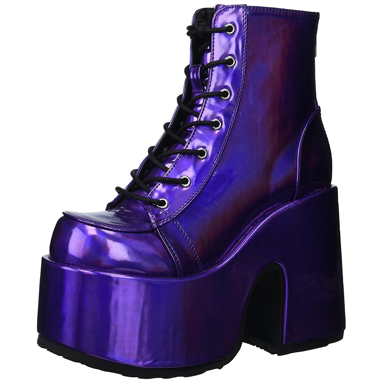 Hologram 13 cm DEMONIA CAMEL 203 goth ankle boots