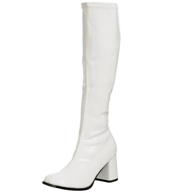 589a2d496a16 Hvid Lak 5 cm FUNTASMA GOGO Dame Støvler