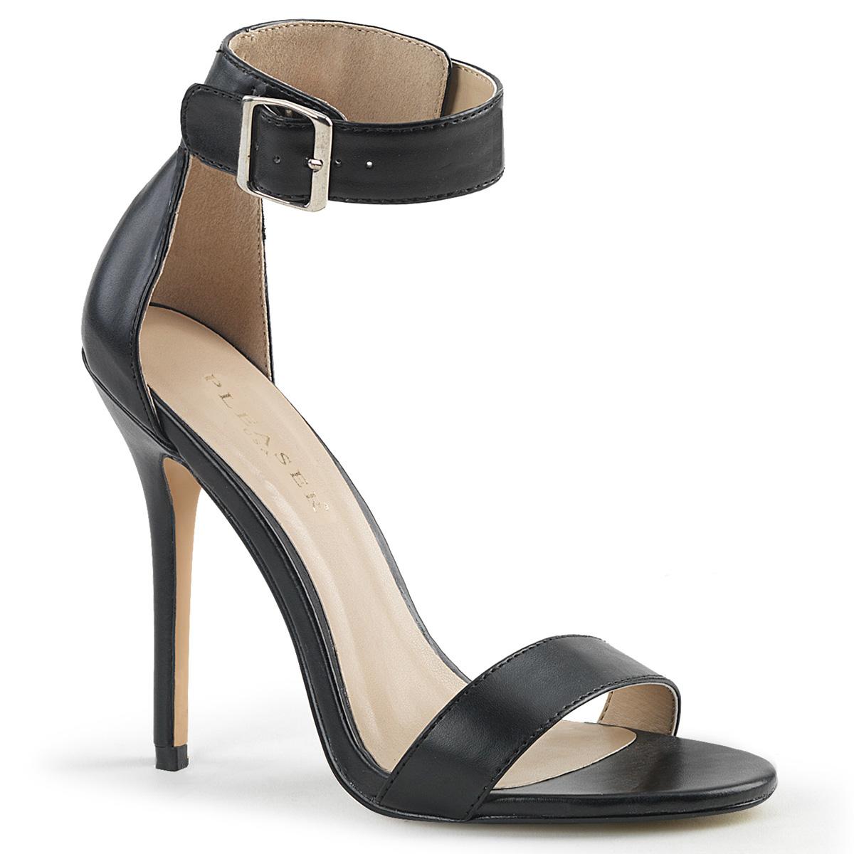 Kunstlæder 13 cm AMUSE 10 højhælede sko til mænd