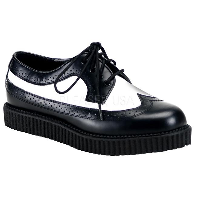 5a7fa733ba3c punk støvletter til herrer platform sko goth mænd demonia sko ...
