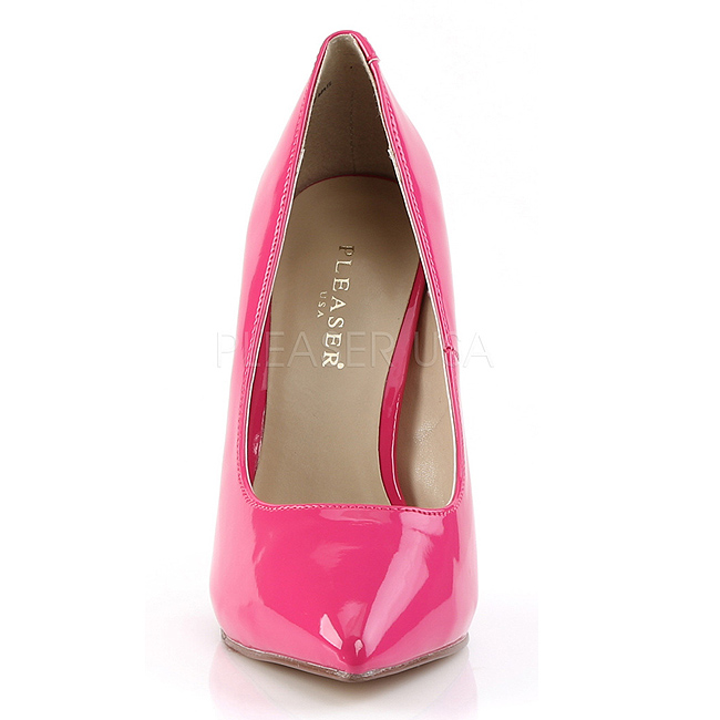 4f24ea79b4c Pink Shiny AMU20 HP PLEASER big size High Heels Pumps for Men women ...