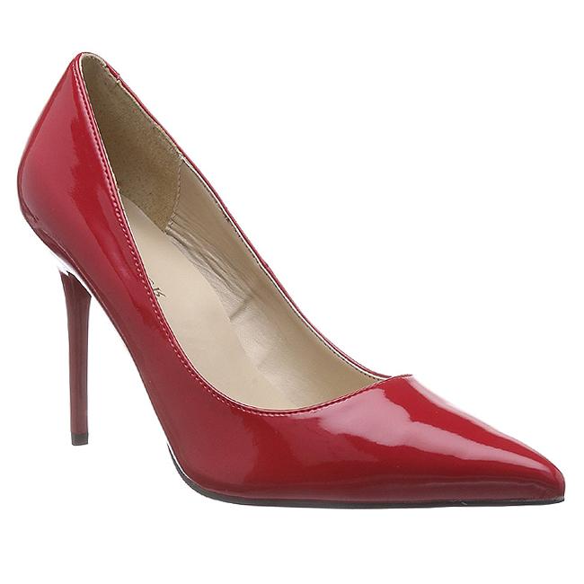 493aa1a6 Rød Lakeret CLAS20/R PLEASER store størrelser Pumps til Mænd dame ...