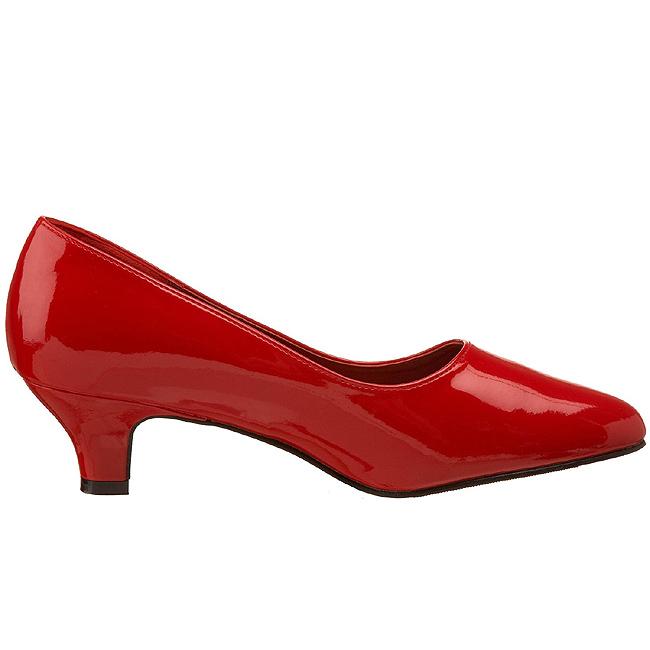 1a6143b5 Rød Lakeret FAB420/R PLEASER store størrelser Pumps til Mænd dame ...