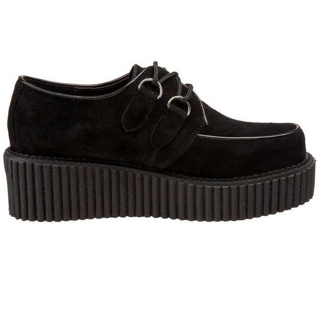 Ruskind 5 cm CREEPER 101 creepers sko dame plateausko tykke såler