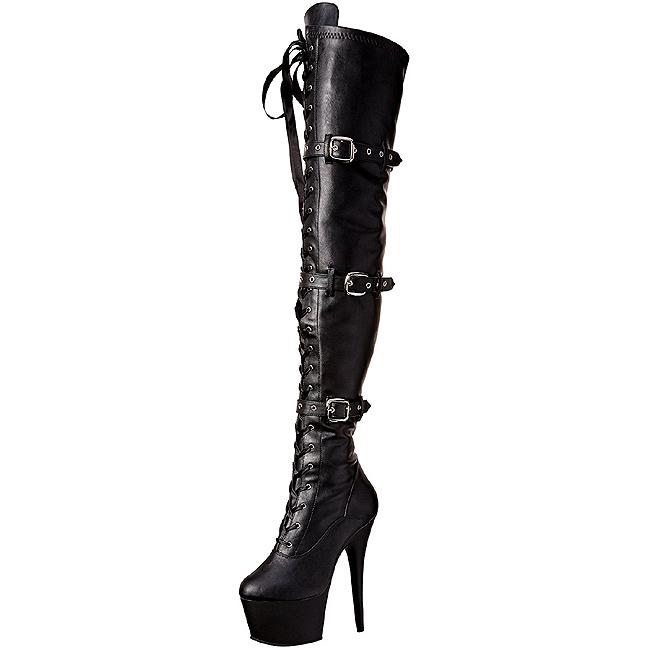 Sorte støvler uden hæl