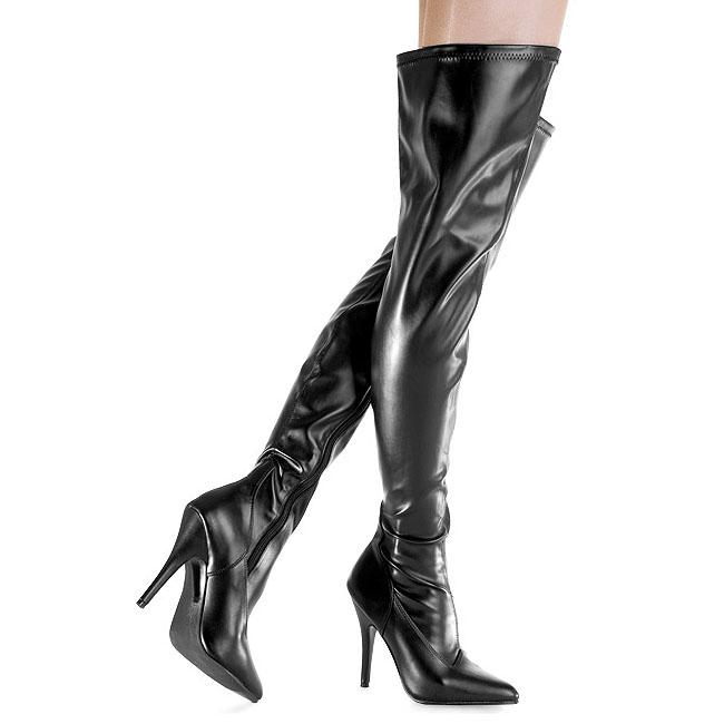 lårlange stiletstøvler støvle fetish