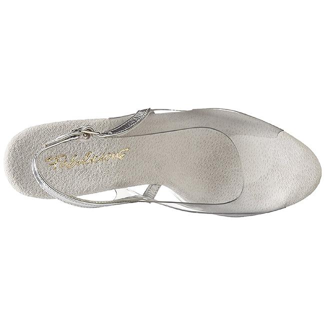 Transparent 13 cm LIP 150 Platform High Heels Shoes
