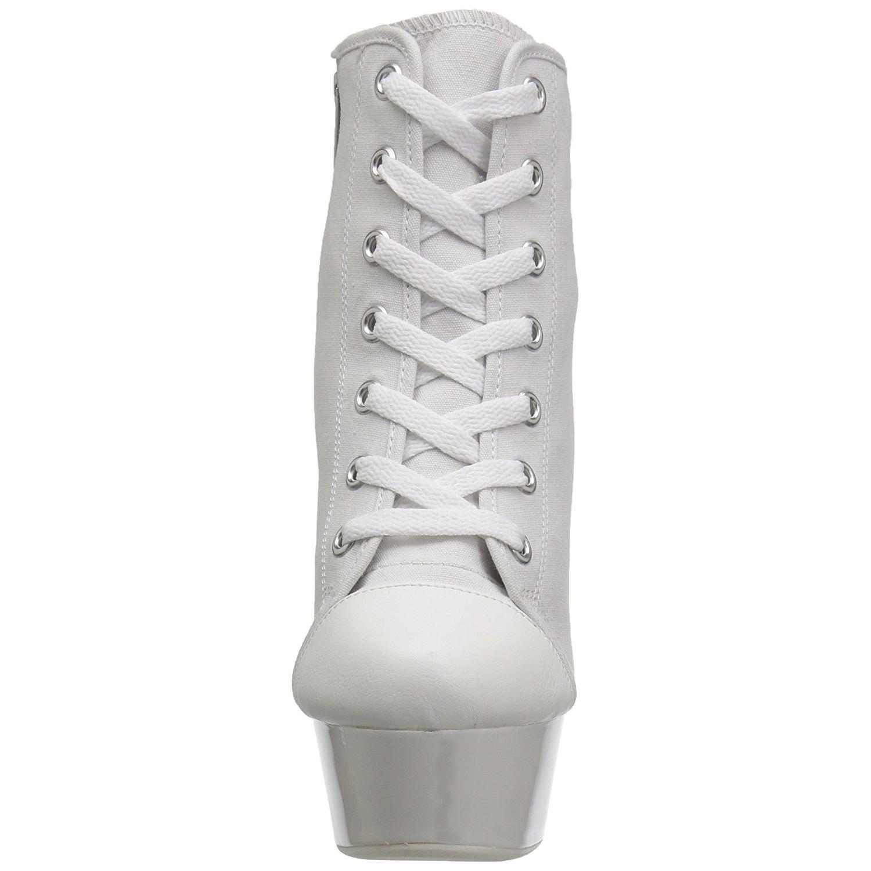 4dd431a25c702a White Neon 15 cm DELIGHT-600SK-02 Canvas high heels chucks