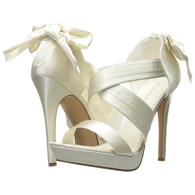 White 12 Satin High Cm Lumina Evening Sandals 29 Heeled TFJclK1