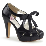 Black 11,5 cm BETTIE-19 Womens Shoes with High Heels