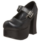 Black 11,5 cm CHARADE-05 lolita gothic platform shoes