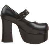 Black 11,5 cm CHARADE-05 lolita shoes gothic womens platform shoes