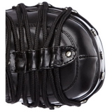 Black 11,5 cm CHARADE-206 lolita knee boots goth platform boots