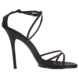 Black 11,5 cm GALA-41 High Heeled Stiletto Sandal Shoes