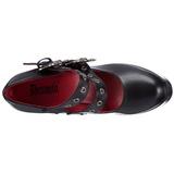 Black 13 cm DEMON-16 lolita shoes gothic womens platform shoes