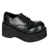 Black 8,5 cm DANK-101 lolita shoes gothic womens platform shoes