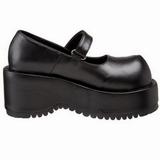 Black Matte 8,5 cm DOLLY-01 Goth Platform Pumps Shoes