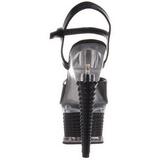 Black Shiny 16,5 cm Pleaser ILLUSION-659 High Heels Platform