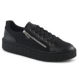 Canvas 4 cm SNEEKER-105 sneakers creepers sko til mænd