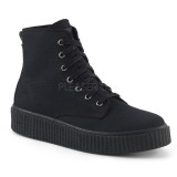 Canvas 4 cm SNEEKER-201 sneakers creepers sko til mænd