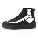 Canvas 4 cm SNEEKER-252 sneakers creepers sko til mænd