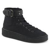 Canvas 4 cm SNEEKER-255 sneakers creepers sko til mænd