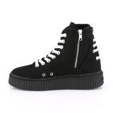 Canvas 4 cm SNEEKER-256 sneakers creepers sko til mænd