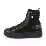 Canvas 4 cm SNEEKER-266 sneakers creepers sko til mænd