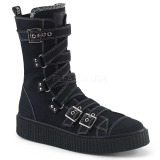 Canvas 4 cm SNEEKER-318 sneakers creepers sko til mænd